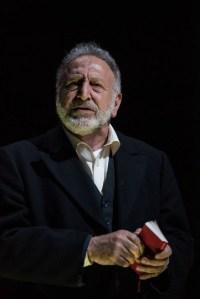 Makram J Khoury as Shylock